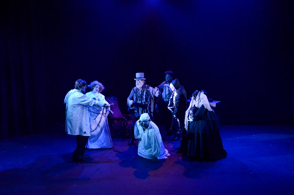 A christmas carol the musical riverbank theatre for Riverbank theater