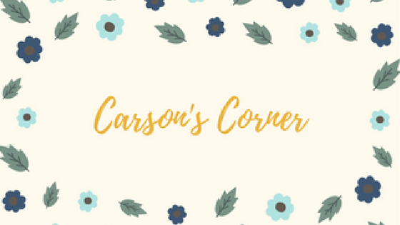 We Are Excited To Announce Our Newest Addition Shop Blog Carsons Corner Carson Is An 8th Grader At Thomasville Scholars Academy