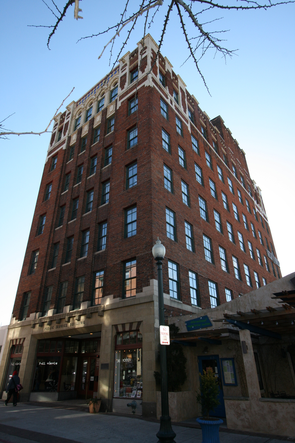 The Self-Help Building - Asheville, NC - Built in 1929 - 8 Stories - Renaissance Revival Style - Commercial Office Use
