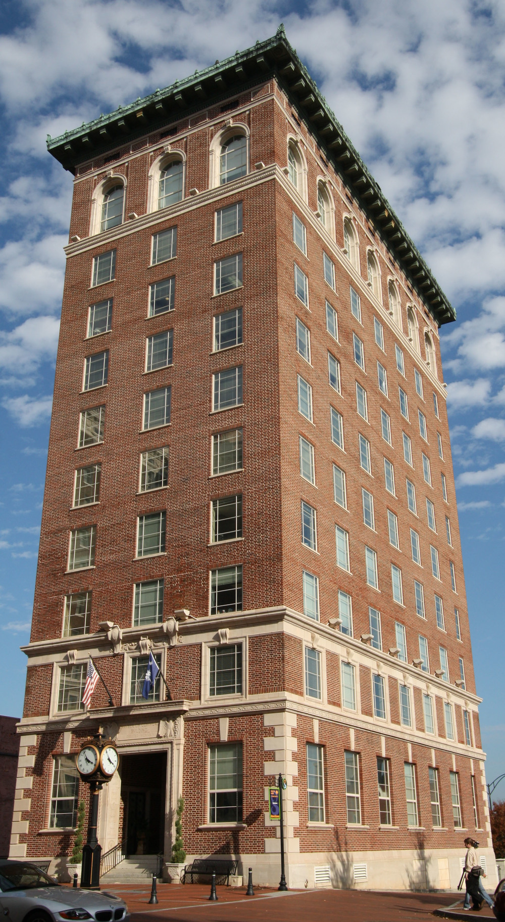 Old Chamber of Commerce - Greenville, SC - Built in 1930 - 10 Stories - Neo-Classical Style - Commercial Office Use