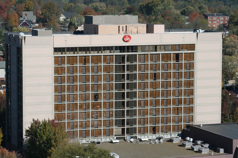 The Renaissance Hotel - Asheville, NC - Built in 1973 - 12 Stories - Modernism Style - Hotel Use