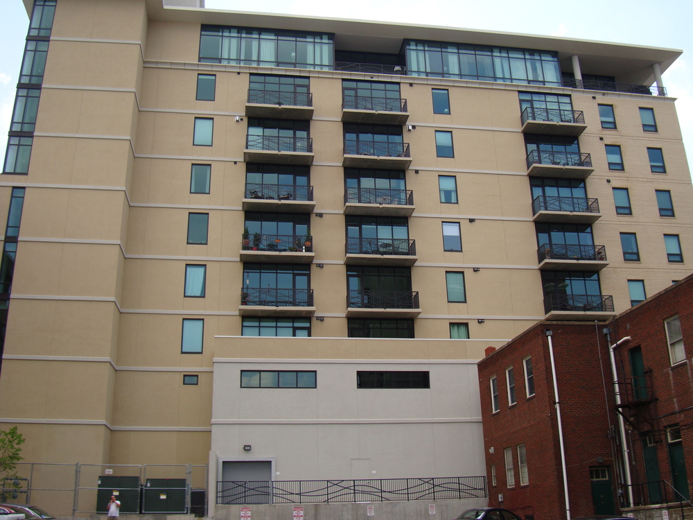 60 North Market - Asheville, NC - Built in 2008 - 10 Stories - Modernism Style - Condominium Use