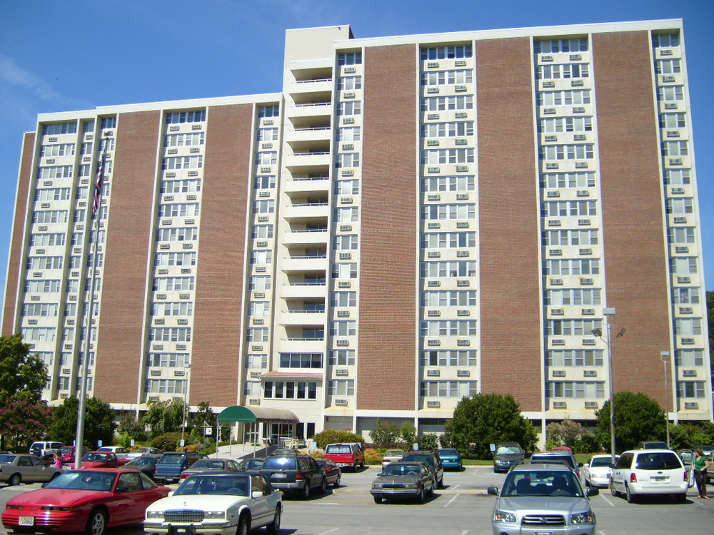 KDCD NorthGate Terrace - Knoxville, TN - Built in 1969 - 14 Stories - Modernism Style - Public Housing/Senior Living Use