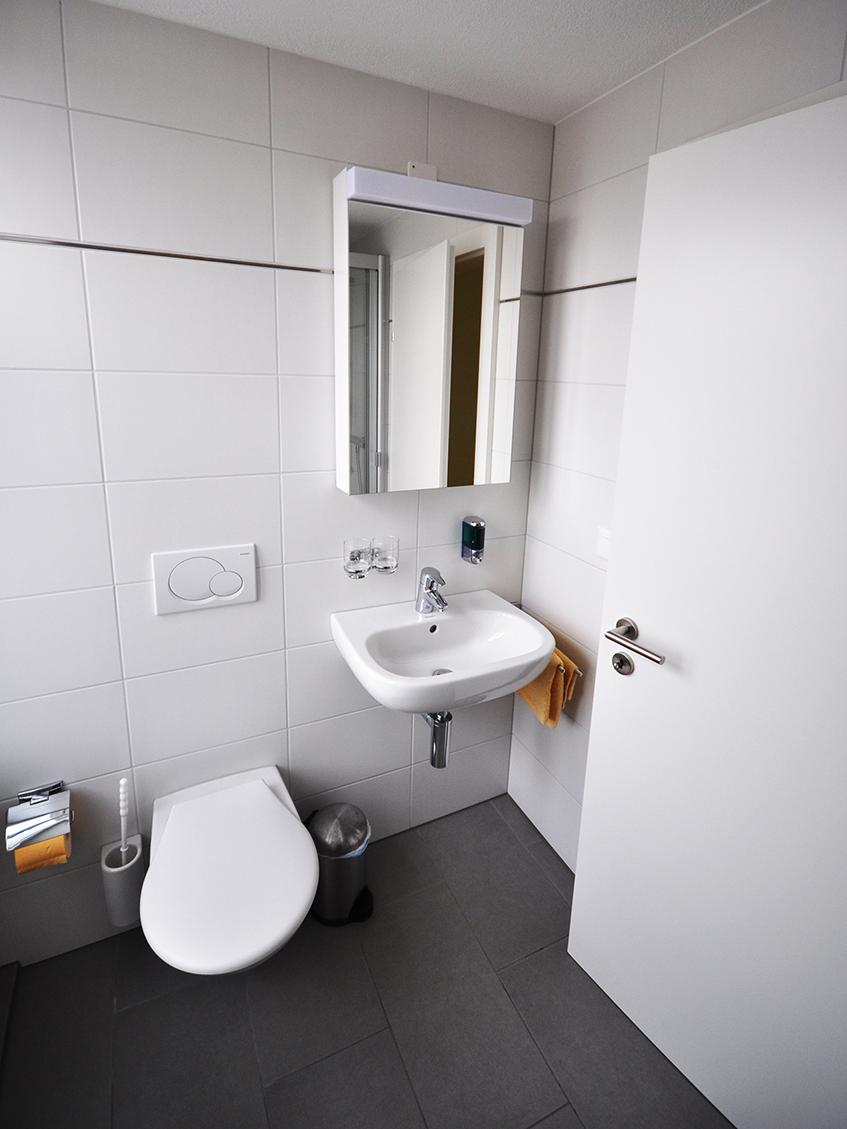 Alle Zimmer mit Dusche/WC.