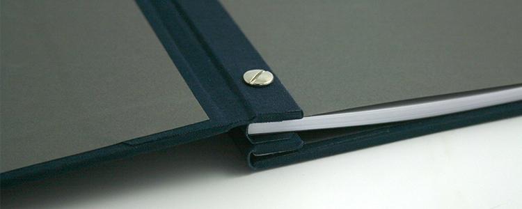 Soft bound book binding