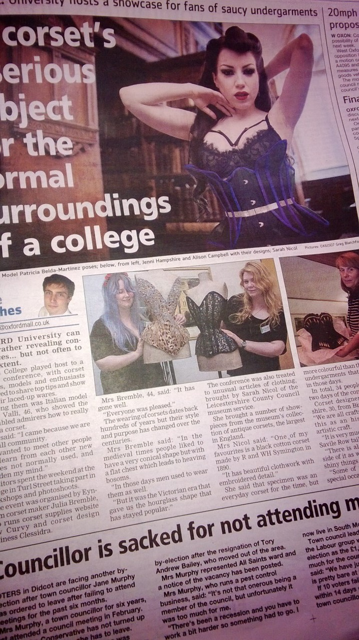 OCOC 2013 in the Oxford Mail