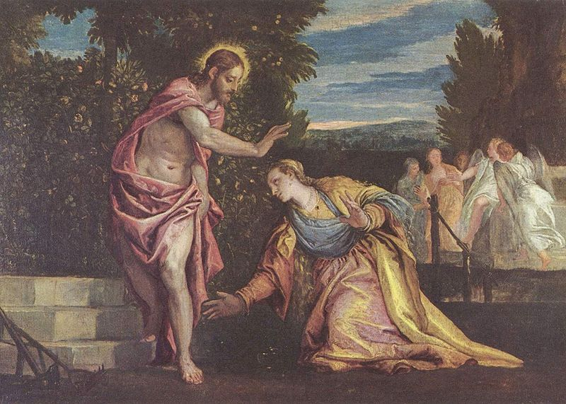 """  Noli me tangere"" -  Paolo Veronese .  These were the tones I wanted to use in my Oxford corset."
