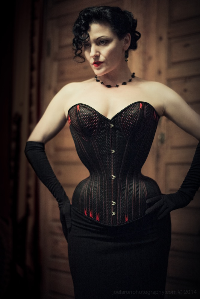 CORSET by caroline. modelled by gingerface copyright tigz rice photography 2015