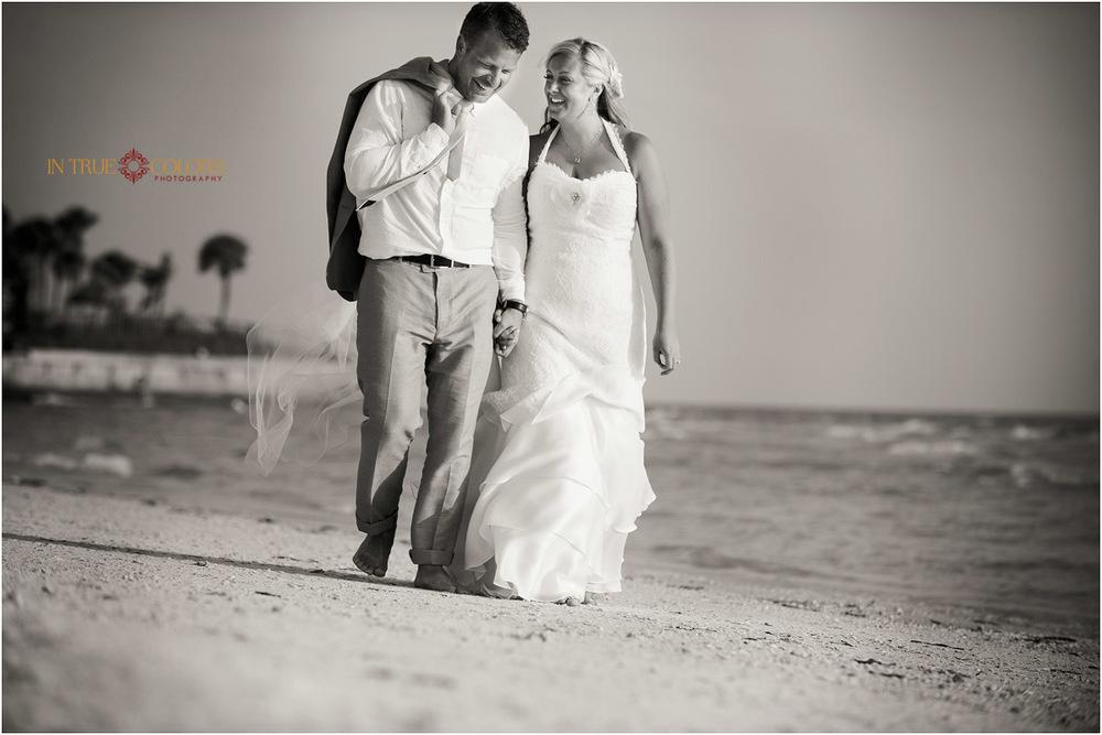Bride and Groom beach weddings