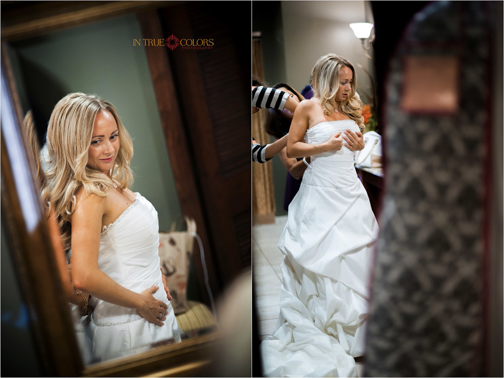 Bride getting ready at Venitian Golf and River club