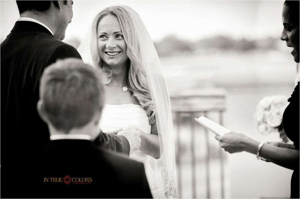 Wedding ceremony at Venetian Golf and River Club