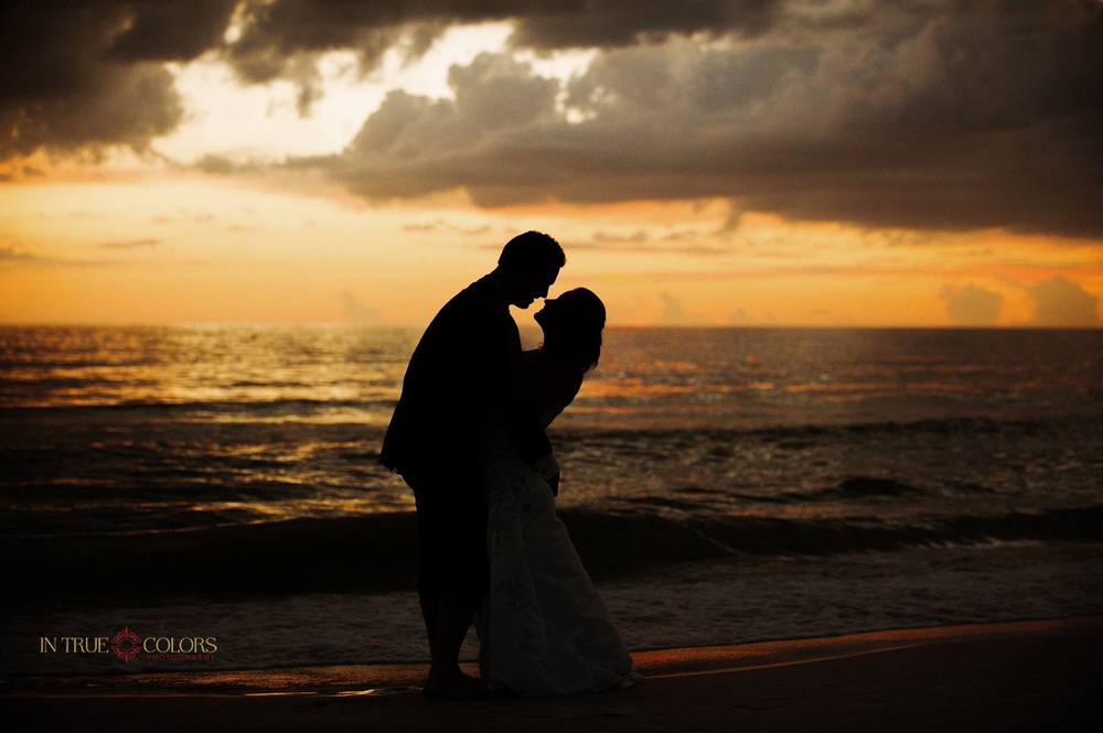 Sunset Weddings, St. Pete Beach sunset wedding