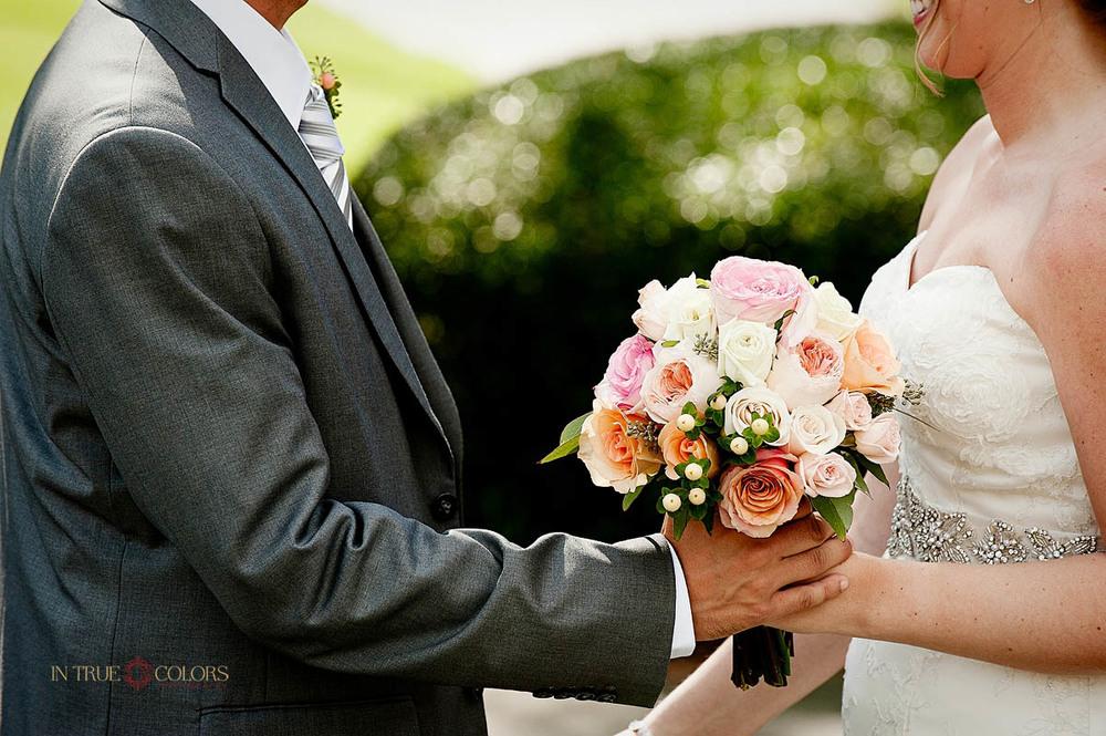 Tampa wedding photographer, Davis Island Garden Club weddings, In True Colors Photography, First Look wedding photography