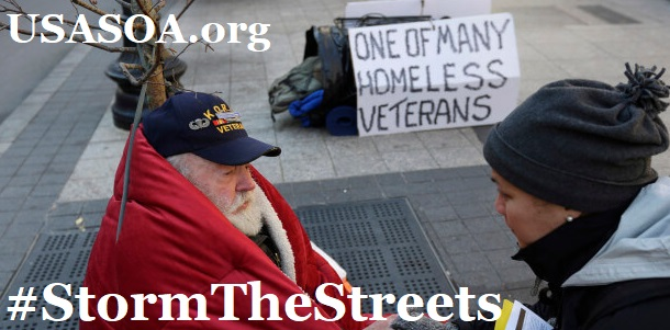 Storm The Streets - Helping Our Homeless Veterans