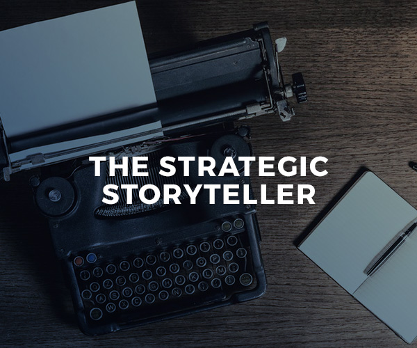 The Strategic Storyteller — group workshop