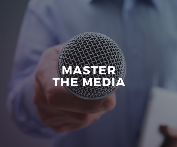 Master The Media — group workshop