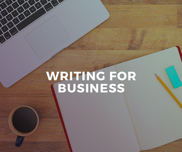 Writing For Business — group workshop