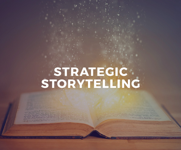 Strategic Storytelling — one-on-one coaching