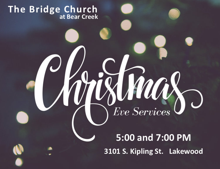 Christmas Eve Services.Christmas Eve Service 5 00 Pm The Bridge Church At Bear