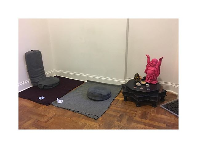 Well that didn't take long. 2 new clients lined up for Spiritual Counseling or Meditation Instruction. Whatever avenue feels authentic to see their minds. #minisavasanastation #popupshop