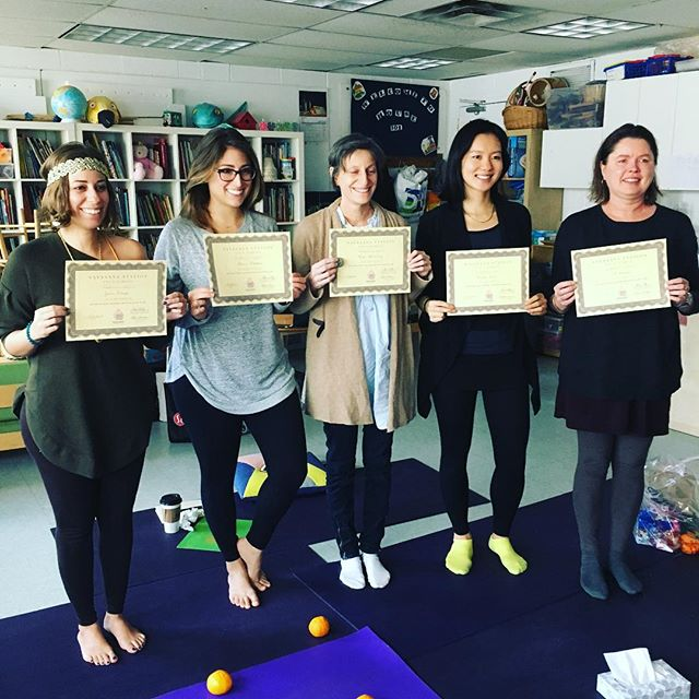 The Fearless Five! Savasana Station Yoga School graduated 5 mindful heart focused yoga teachers in NYC ready to teach! @j9diangelo @aleeka_ @bhung86 Cal & Helen contact them directly! #congratulations #200hrryt 🧘♀️📿🧘♀️