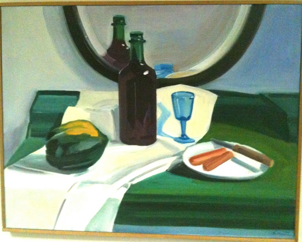 Louisa Matthiasdottir Untitled (Still Life,) n.d. oil on canvas 29 x 37 inches
