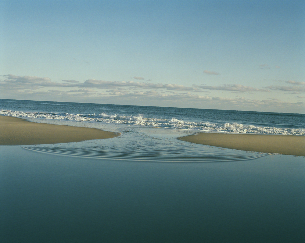 Tria Giovan    Sand Bar Wave Summer,  2006  Archival inkjet print  30 x 40 inches