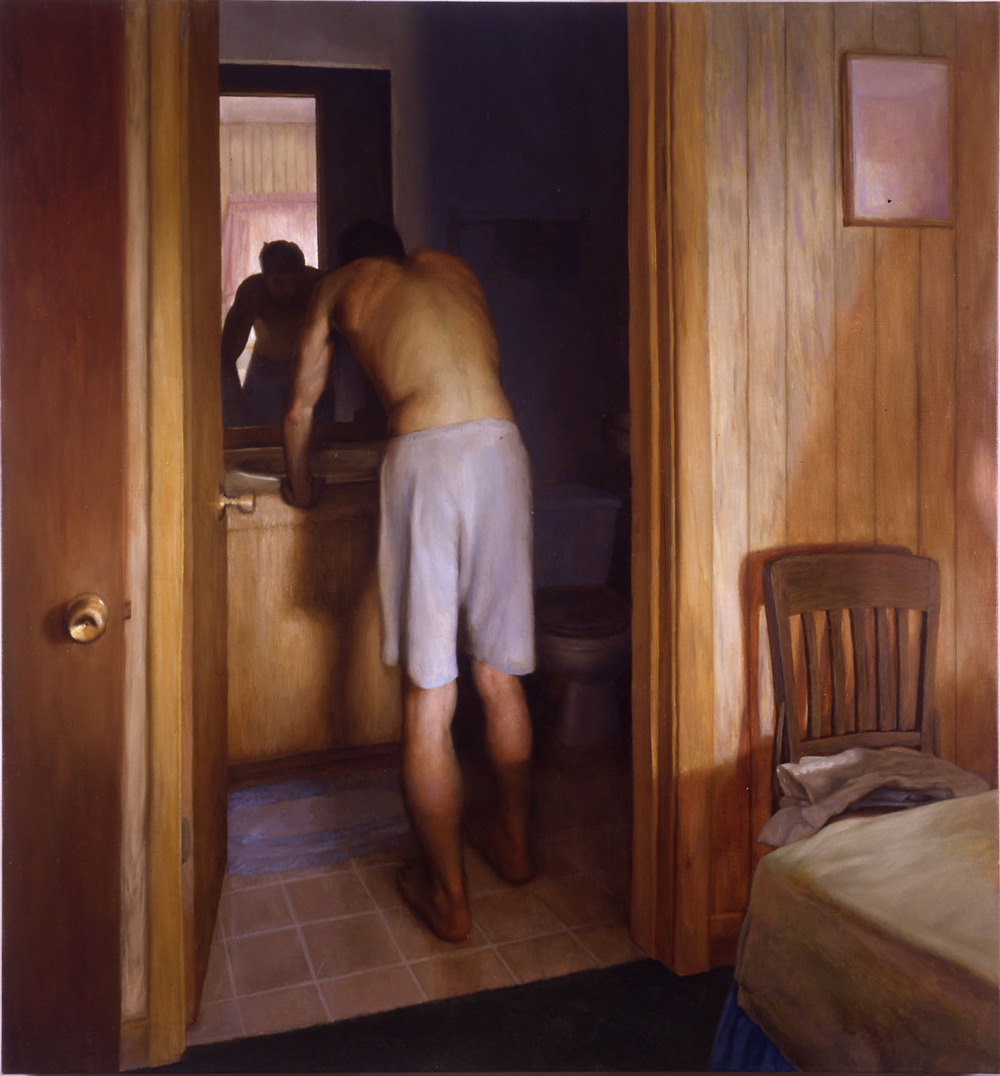 Bryan LeBoeuf   Endsight , 2003  Oil on linen  42 x 29 inches
