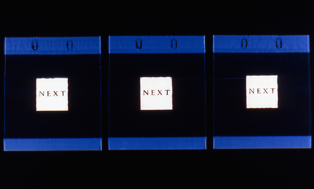 Vaughn Judge   Next, Next, Next , 2002  photogram  30 x 40 inches