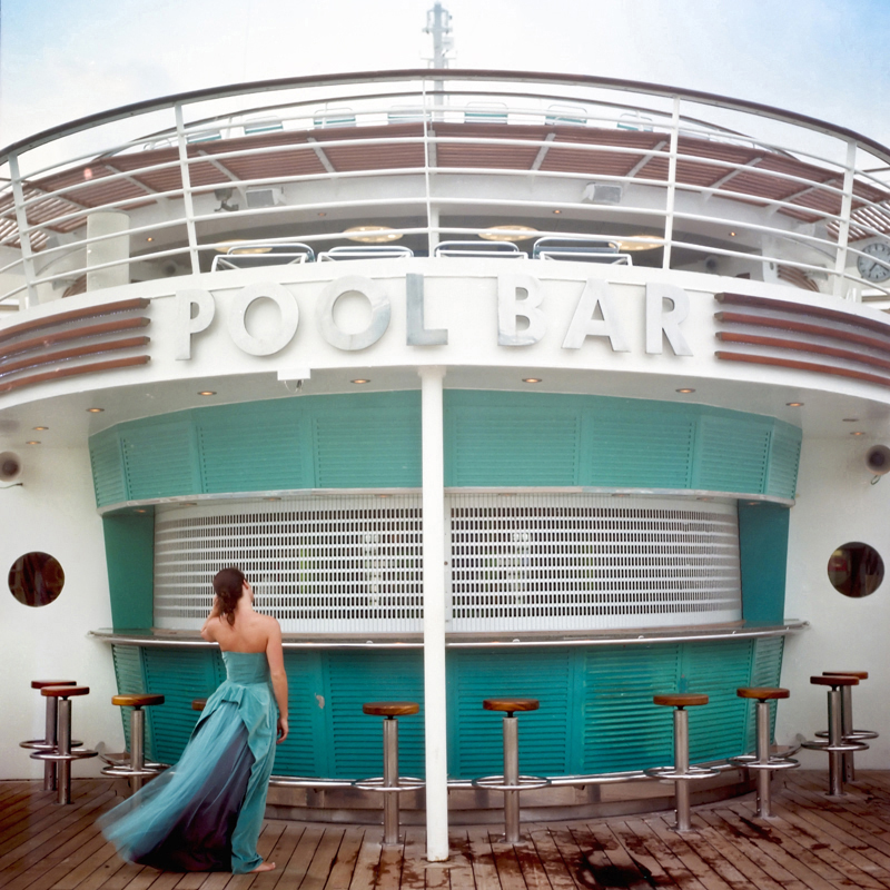 Cig Harvey Pool Bar, Miami, Florida, 2005 c-print; 28 x 28 inches