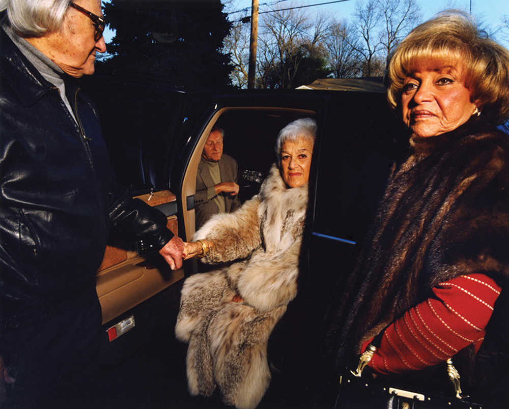 Gillian   Laub     Grandpa Helping Grandma Out,    2000    Edition of 3 ; #1/3    C-print    39 5/8  x 49 ¼ inches