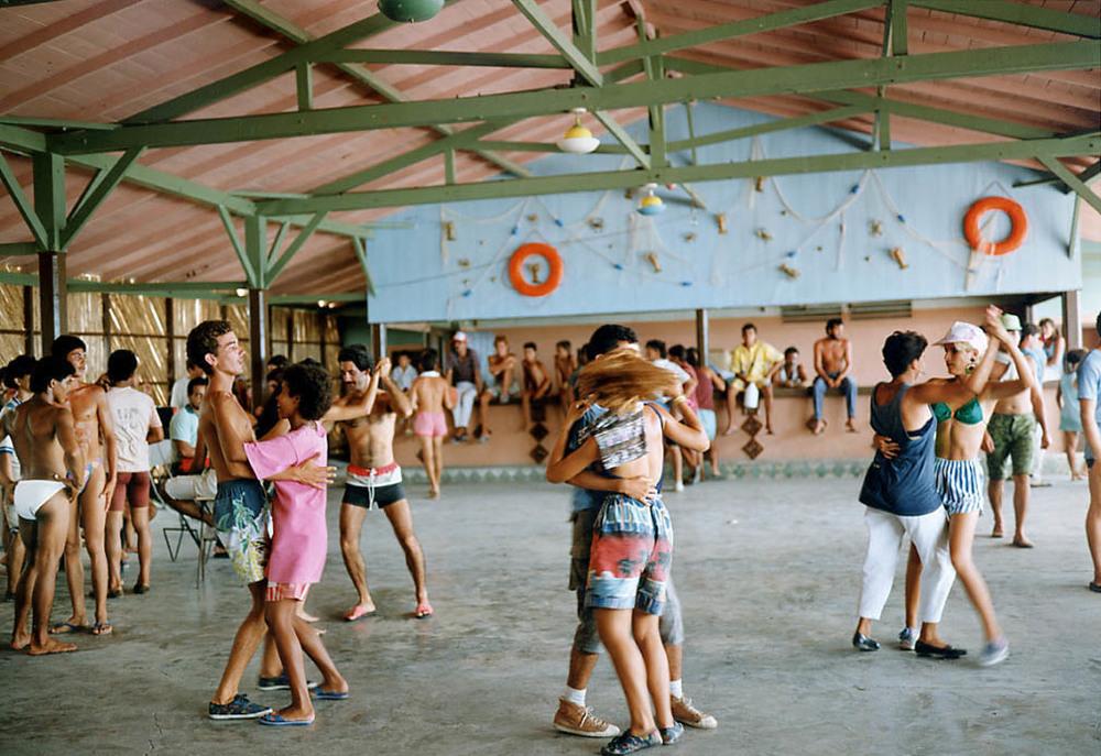 Tria   Giovan     Dancing-Isabela de Sagua, Cuba,    1994    Edition of 30; #4/30    Archival pigment print    30 x 40 inches