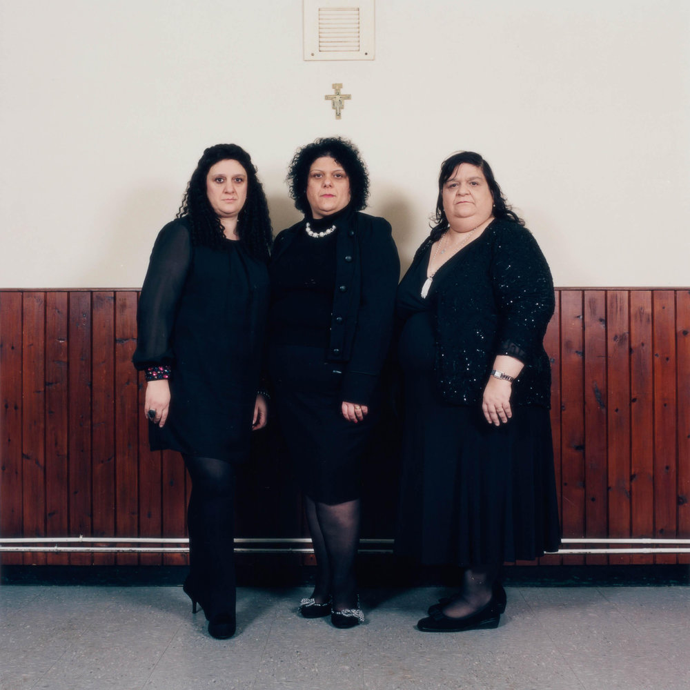 "The Chirico Sisters, St Francesca Cabrini Italian Church, 201 3, from the series ""The Spaghetti Tree"""