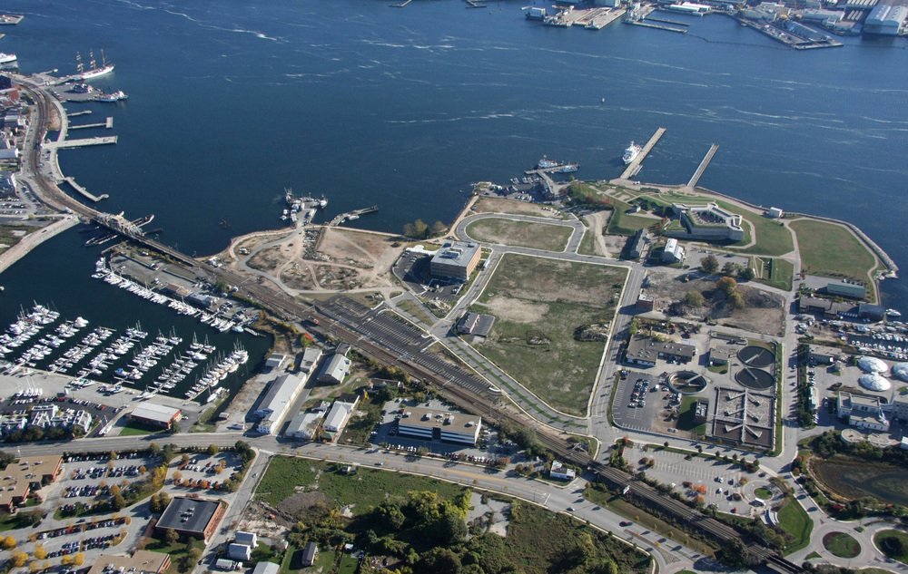 Fort Trumbull, East View, 2008