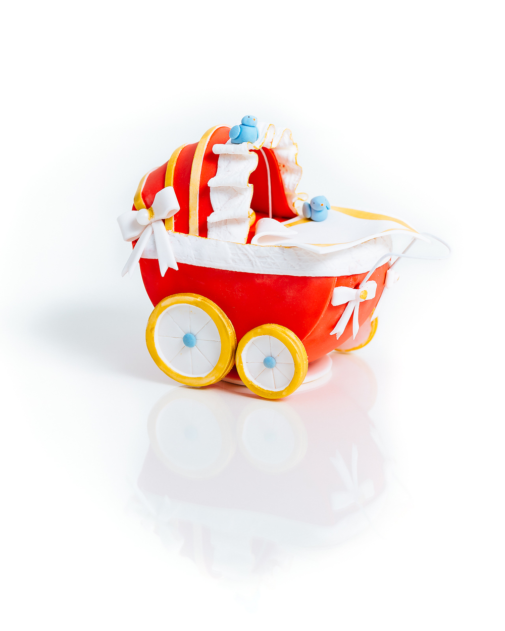 Vintage Baby Carriage Cake - Sugar Lane Cake Shop