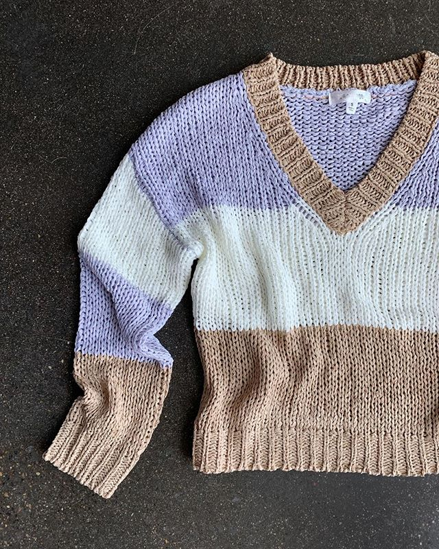 Look fresh, stay cozy. 30% OFF this and all sweaters now through 2/3.