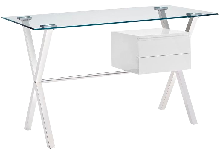 Modway - Stasis Desk White.png