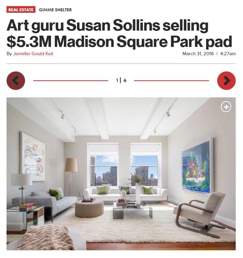 http://nypost.com/2016/03/31/art-guru-susan-sollins-selling-5-3m-madison-square-park-pad/
