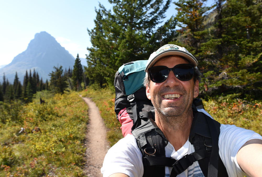 Glacier National Park is great for backpacks and day hikes!  I always carry bear spray. I have never had to use it but I am glad it's on my belt in easy reach just in case. Mileage for day one: 5 miles, day two: 7 miles, day three 4.6 miles.