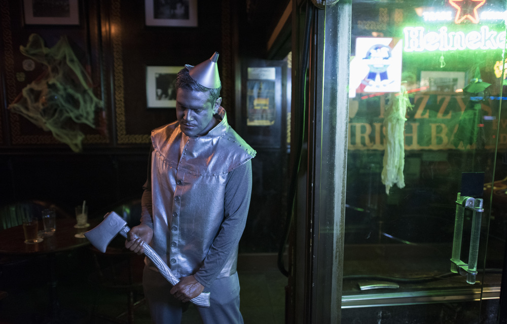 Tinman at a bar...