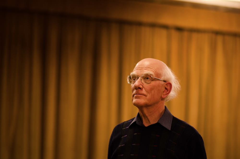 Andrew Swinn Ex Stratford Symphony Orchestra Conductor of 47 years,late 2014