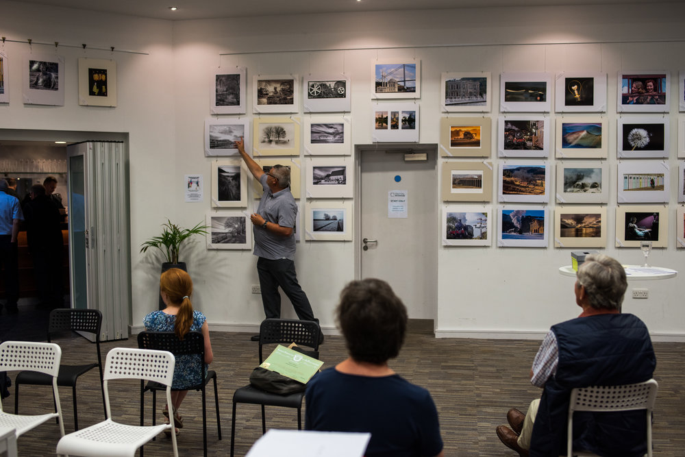Stratford Photo Group end of year exhibition and prize giving, Stratford ArtsHouse,21/07/2016