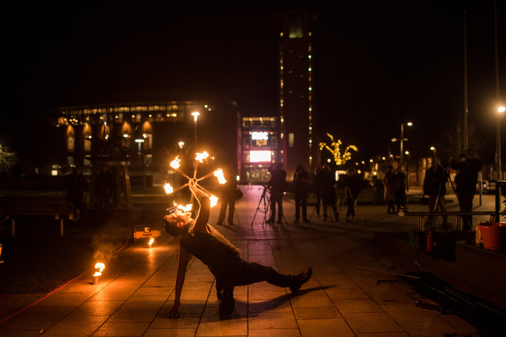 Fire Eating RSC Stratford-upon-Avon 2018