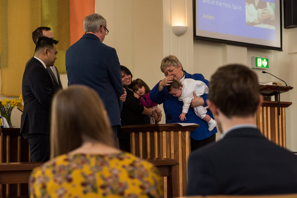 Baptism Methodist Church Service Stratford-upon-Avon 2018
