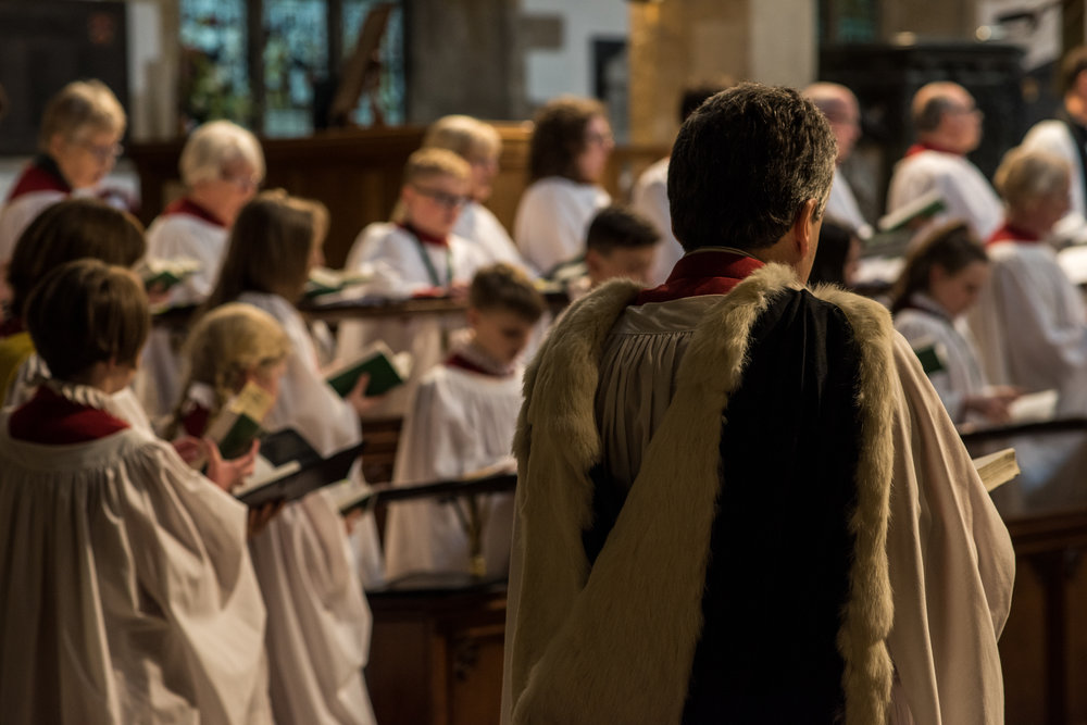 Holy Trinity Church Stratford Church Choir Rehearsal Rehearsals Church Of England Stratford-upon-Avon 2018