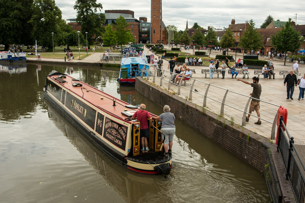Canal Basin RSC Waterside Stratford-upon-Avon 2017