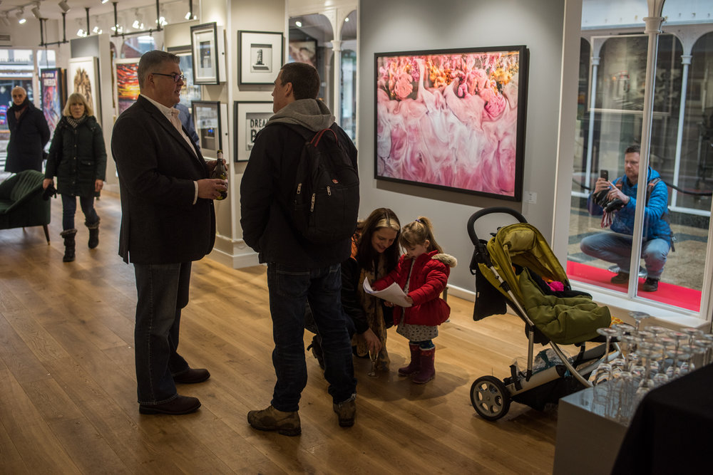 Castle Galleries Grand Opening in Stratford Art Gallery In Stratford Stratford-upon-Avon 2018