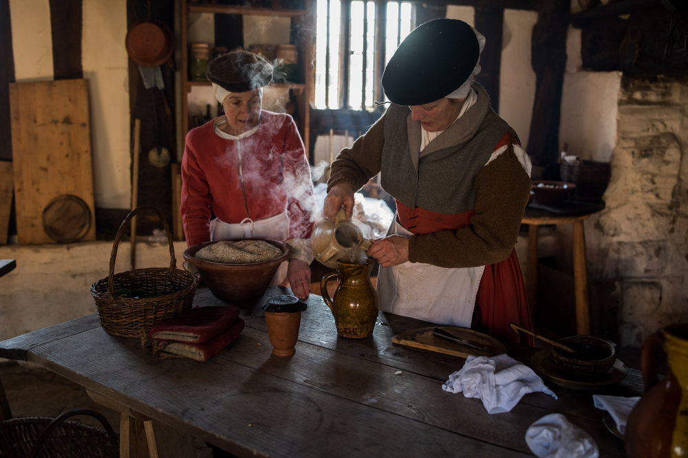 Tudor Cooking Mary Arden's Farm Stratford-upon-Avon