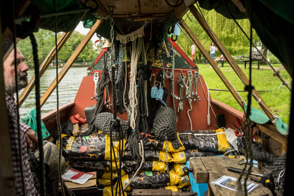 Working Canal Boat Knot Knots Stratford-upon-Avon 2018