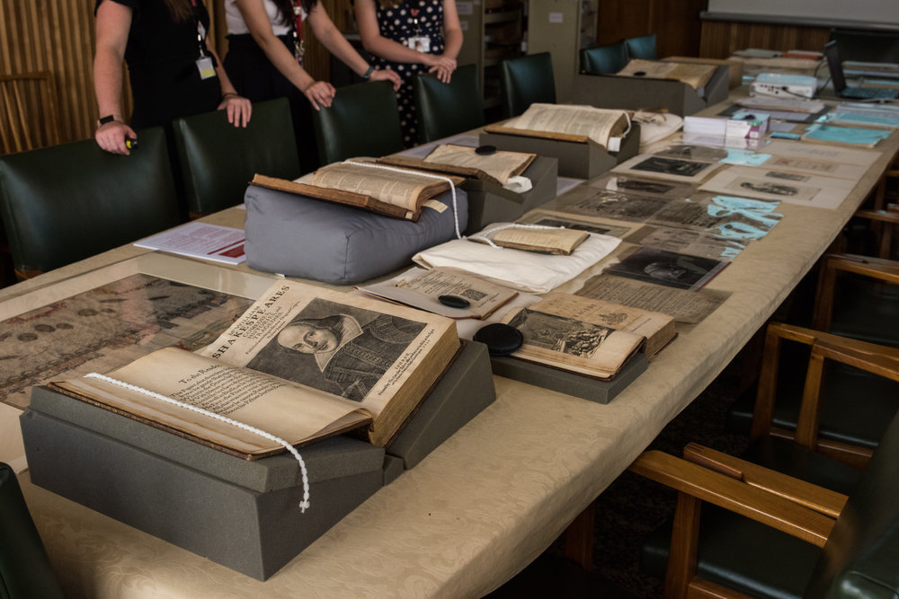 A selection from the archive ready for a talk given to oversees university students